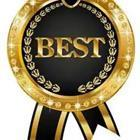 Award that says Best