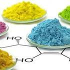 Different colored chemical compounds