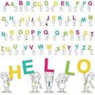 Hello and alphabet