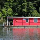 The 9 letters answer is HOUSEBOAT